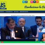 Siga la Inauguración de #CELAC2015 por http://t.co/MtoncYJvkB con @MashiRafael como flamante presidente. @dorissoliz http://t.co/jTprFysoPg