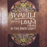 Get to @thebarnlight tonight for some sweet @Swahilinoise beats! #eugene #oregon #free #cforum #culturalforum http://t.co/dt8a2cw7Cz