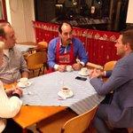 Evaluatie van de avond met @BjornLugthart @jaapfinke van de gemeente Rijswijk @RestoVanHarte http://t.co/e9YneA6ivR
