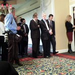 Full house in anticipation of the Brent Spence Bridge announcement http://t.co/8kFmBdPG7Z