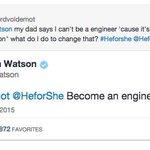 Emma Watson donne le meilleur conseil à une jeune femme. Génie. #HerforShe  @EmWatson http://t.co/11L2t9sKsg