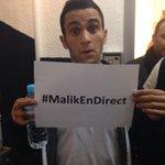 #MalikEnDirect ça commence tout de suite sur @W9 ! http://t.co/gR5N5KEQeD