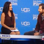 T.S. Meeks talks about his latest film #Distancia Watch the live interview here http://t.co/emytTtX5Kn #SBIFF2015 http://t.co/7g7sWnEZKS