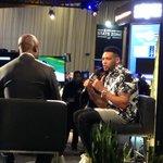 #Browns Joe Haden being interviewed by NFL Networks Marshall Faulk. #radiorow. http://t.co/PJL75S9rHv