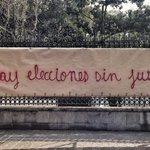 """""""Espectacular ciudadano"""" sobre Av. Reforma #EPNnoTeHagasMenso: no hay elecciones sin justicia http://t.co/hf2xvqSuM2 http://t.co/ZHv5P2G4gw"""