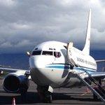 Twitter / @MonumentalCR: En avión de Fuerzas Armada ...