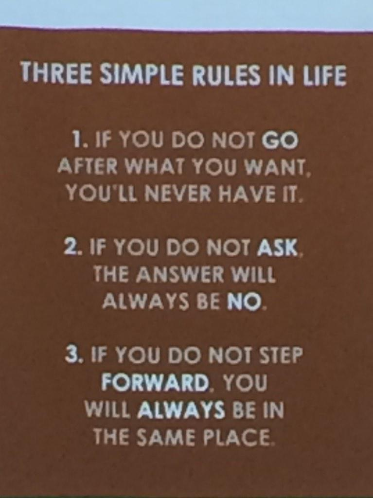 Three simple rules. Have these on my wall at work. Great guide. #farmtech15 http://t.co/Xe7tNwqJWE
