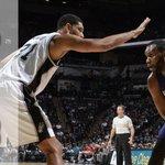 HALFTIME: Spurs - 55. Hornets - 38. #SASvsCHA http://t.co/9vJh4CytV0