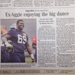 Good luck to fellow Aggie Nate Isles playing for the Seattle Seahawks in this years superbowl. http://t.co/wtMOQ08Kts