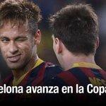 Atlético de Madrid cae ante Barcelona y queda eliminado de la Copa del Rey ► http://t.co/846h75p4j2 http://t.co/O4y7wbQyO5