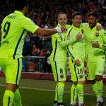 Atlético 2 - 3 FC Barcelona (2 - 4)   Uno x uno: Los jugadores del Barça http://t.co/GD7kX8PoKG http://t.co/40oVONMaEX