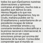 Suspendida cuenta de @CrudoEcuador. Se cae la libertad de expresión, de mercado, de sueños de un mejor país... http://t.co/LYSuZiUj8A