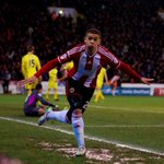 What a night for @Che11Adams - congrats on your first Blades goals #twitterblades #CapitalOneCup http://t.co/AqWXdR7Keh