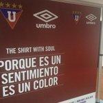 ¡Queda poco! atentos a la nueva camiseta de #LDU para este 2015 diseñada por @UmbroEcuador #NocheBlancaLDU http://t.co/5p5weYmhXp