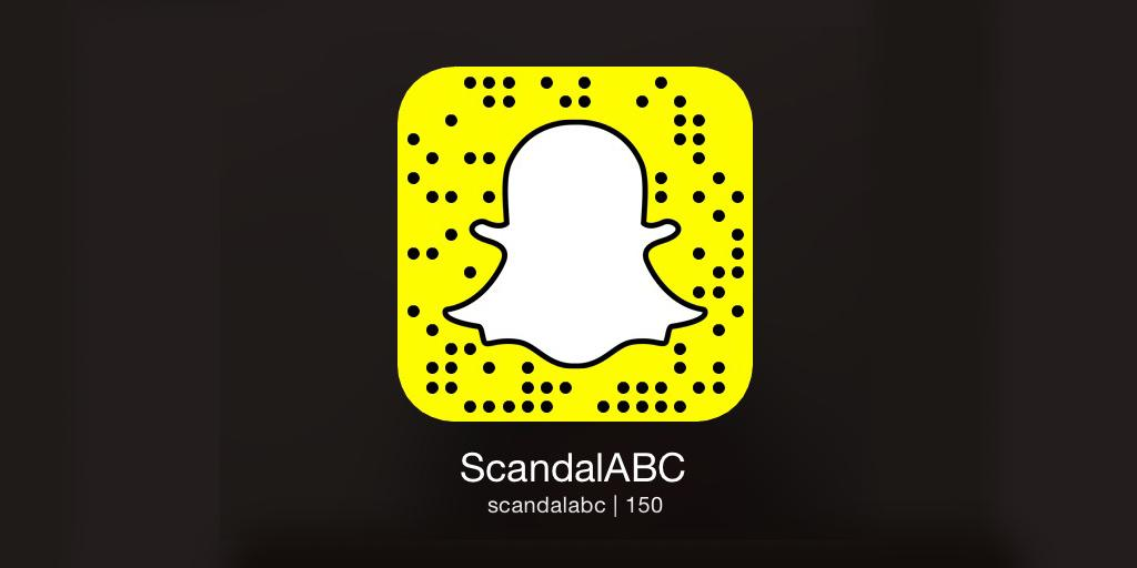 Follow scandalabc on @snapchat in 2 easy steps: 1) open app. 2) aim ...