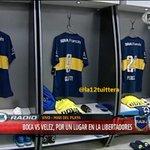#VamosBoca! Hoy #Boca vestido de #Boca. La clásica azul y oro. http://t.co/2inSZkblJw