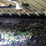 One hour from tip and this is the @LepLegion student section for @NDmbb: http://t.co/l0j4tjq2Mc