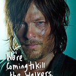 .@wwwbigbaldhead looks ready to f*ck up some walkers in these new #WalkingDead promo pics! http://t.co/Ta5XQK1l5o