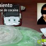 """#Loja: Detienen a persona en el barrio """"Esteban Godoy"""" con 27 gr. de cocaína y dos plantas de marihuana. http://t.co/UATbFrrsgW"""