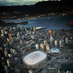 Beautiful afternoon flight above #Vancouver #YVR @bcplace @RogersArena @CanadaPlace in the @AM730Traffic choppa. http://t.co/EqLcN6Td3E