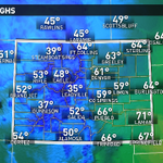 Hot diggity dog! Low 60°s today w/ 40°s on tap tmrw. Ull wanna trade those flip-flops in for #snow boots soon. #9wx http://t.co/QVgZbsnWdS