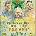 """07/02 no Bar Roots. Lançamento do álbum """"Tem Que Ouvir Pra Ver""""  https://t.co/UAfPVldkbL http://t.co/J5ClK30VUM"""