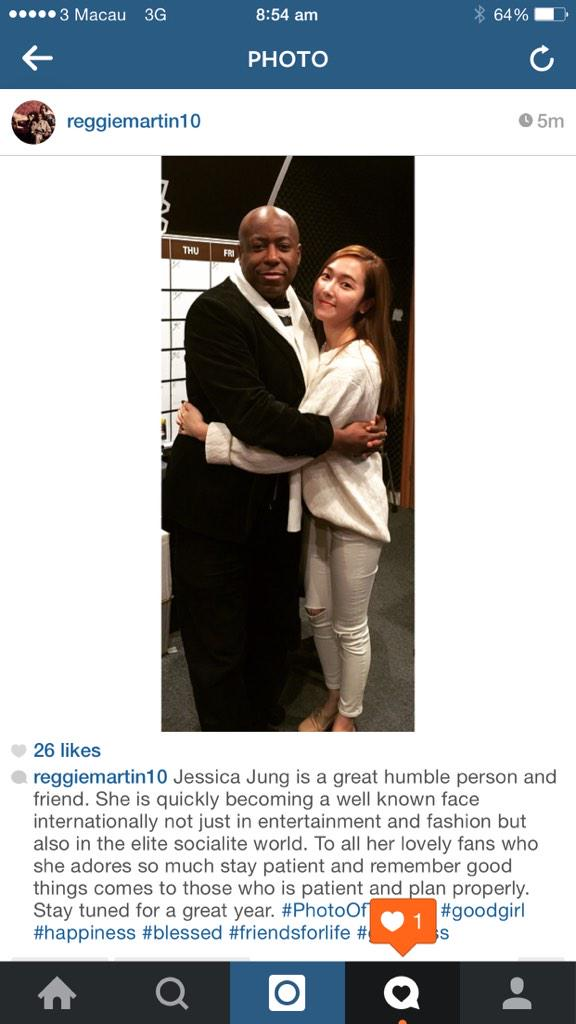 Jessica Jung what a great humble person and friend. Be patient to her fans and stay tuned to greatness http://t.co/pepBO5vPZm
