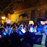 #Resistencia d vzolanos en Costa Rica en contra de NICOLAS MADURO http://t.co/ww6Ifw9375