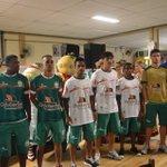 As camisas do Metropolitano com o incremento dos novos patrocinadores. #JuntosSomosMaisFortes http://t.co/VqLRrufnvj