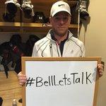 Tangs is on board. #BellLetsTalk http://t.co/xcphJ4u3RW