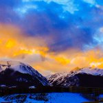 #SkyCandy Alert! Sunset over Dillon. Serious #CO High Country beauty! 📷: Bill Linfield. #9wx http://t.co/bdslOvMSvV