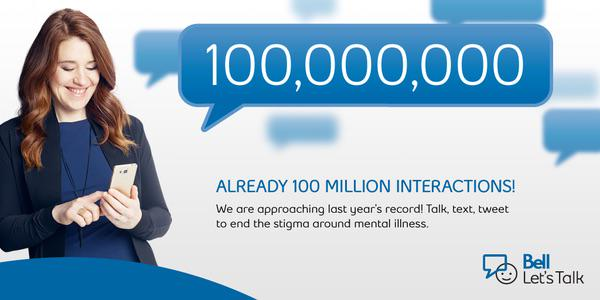 THIS JUST IN: as of 8:30 p.m. #BellLetsTalk http://t.co/FYGFDsyxym
