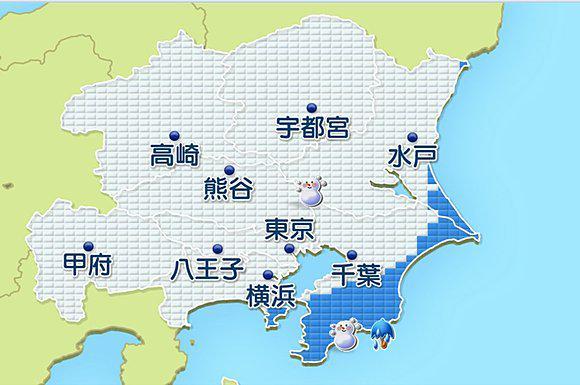【明日の関東 通勤・通学の時間帯も雪】 http://t.co/MDnPdBRjJV 明日(30日)は関東は未明から雪が降りだすでしょう。都心など南部平野部も通勤通学の時間帯は広く雪とな.. http://t.co/qfZD9W5UWe
