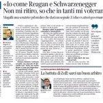 """#Magalli, """"Nom mi ritiro, io come Reagan"""" Lintervista al Corsera. Tutto vero 2, #LMN. #Quirinale http://t.co/17XFyiPp1l"""
