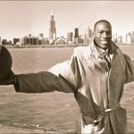 His Airness, Michael Jordan. 1986 , #Chicago ~ @chicagobulls #Bulls @HeirJordan13 @Jumpman23 @JimmyButler @paugasol http://t.co/FFnnEoaxb2