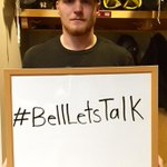 Captain Landy has just one thing to say today: #BellLetsTalk. http://t.co/wiv1Xg5eJm