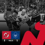 #NJDEVILS WIN! Patrik Elias seals the victory with a shootout goal! Devils defeat the Leafs 2-1! http://t.co/ldFzcz221A