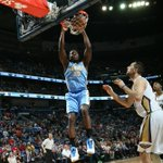 Well, that's more like it… Nuggets win!!  Final: #Nuggets 93 - Pelicans 85. http://t.co/M9x8Y4T8QN