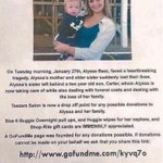 http://t.co/LAUSA0FKPb please help this young lady for me..thank you! http://t.co/vKnqK6v5oG