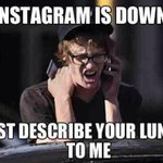 WHAT?! Instagram is down again? Contingency plan activated. #InstagramDown http://t.co/hfTLVtUqN7 http://t.co/09KOh0zgmq