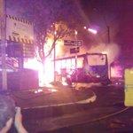 Accidente grave en Sajonia. Habría un fallecido tras choque e incendio. Ampliaremos (Foto: Wilson Cardozo) http://t.co/CqY0ngqwMp