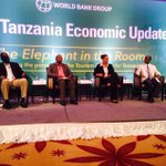 At 6th TZ Economic Forum by the WB. Focus on Tourism. Follow debate @JamiiForums http://t.co/AE0aY8Dryk