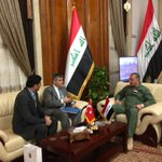 Useful discussions with Defence Minister Oubaidi on Turkey-Iraq military and security cooperation against terrorism. http://t.co/8bHIbSI2lU
