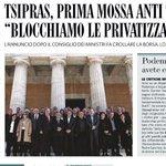 Grecia. Tsipras fa sul serio. Bloccate le privatizzazioni. E non solo http://t.co/dKq8BKs8Vi