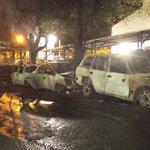 Restos del horrible accidente en Sajonia. El bus pertenece a la línea 27. http://t.co/vZ2R1viZe5