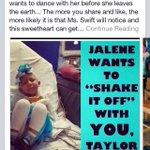 @taylorswift13 make a little girls last wish come true!✨ @taylorswift13 #taylorandjalene #ShakeItOff #taylorandjalene http://t.co/FaE1pEHu2q
