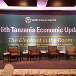 We are LIVE from Hyatt Regency, Dar on The World Banks Launch of the 6th Tanzania Economic Update Report #TZEconomy http://t.co/TAD2tk5ZT2