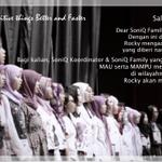 Siang SoniQ Rocky infokan program baru kita yg diberi nama || SoniQ Soldiers || pantengin TL untuk info selengkapnya http://t.co/NeWaxFDTCy