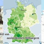 #Pegida-Fans vs. Anteil ausländischer Mitbürger vs. NPD-Wähler via @carstenwolfram #fremdenfeindlichkeit http://t.co/ksPNTztVpD
