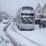 Buses snowbound in Fulwood #Sheffield @SheffieldStar #thestarsnow http://t.co/OmlDoPfumH